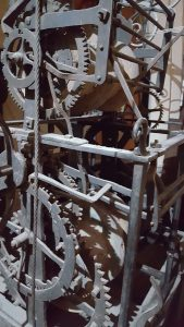 Fifteenth century clock mechanism