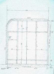 Sketch of wardrobe