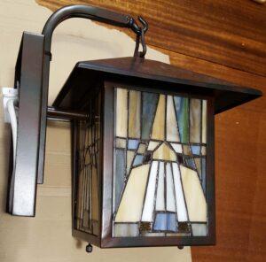 The 'Quoizel' lantern